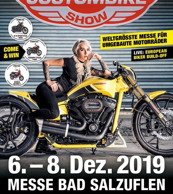 Custombike-Show 2019 – wir sind mit dabei